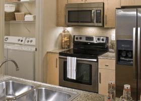 Lofts at CityCentre kitchen