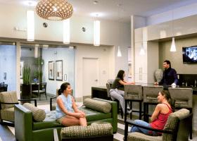 Lofts at CityCentre lobby