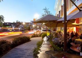 Lofts at CityCentre patio