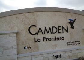 Camden La Frontera front sign
