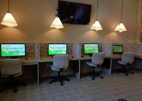 Camden La Frontera business center lounge