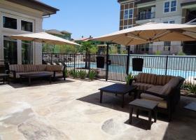 Camden La Frontera pool side patio