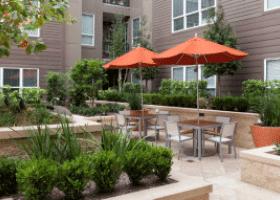 Amli River Oaks patio