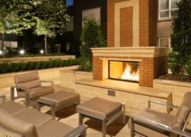 Amli River Oaks outdoor lounge