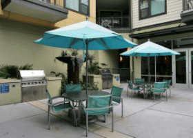 Amli Downtown patio