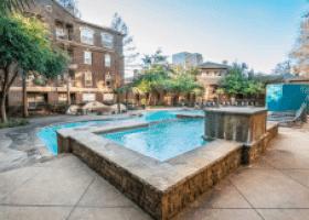 Nine Ten Texas Street pool area