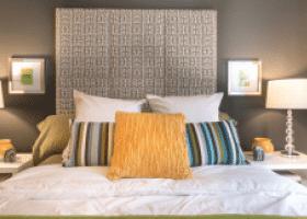 Nine Ten Texas Street bedroom