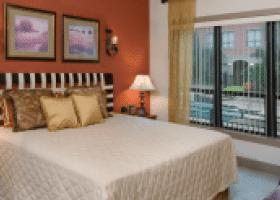 Lofts at the Ballpark bedroom