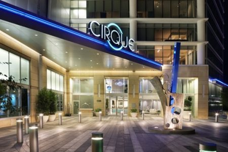 Cirque front entrance