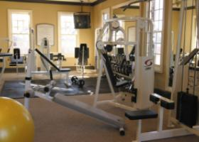 The Caruth fitness center