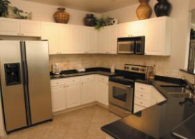 The Caruth kitchen