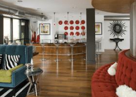 Camden Design District lounge