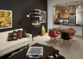 Camden Design District living space