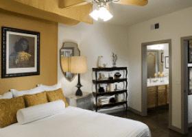 Camden Design District bedroom